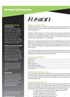 Fabpro - Model FUSION™ - Synthetic Macro Fiber Blend- Brochure