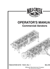 Commercial Aerator- Brochure