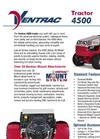 Ventrac - Model 4500- Compact Tractors Brochure