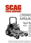 Turf Tiger - Zero Turn Riders Mowers Brochure