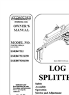 Ton Direct Drive Log Splitter LSRB675221350 Brochure