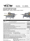 Countertop Saw Brochure