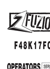 Fuzion - Model F48K17FC - Mower - Manual