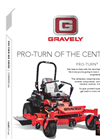Pro-Turn - Model 400 - Commercial Lawn Zero Turn Mowers Brochure