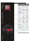 Atlas - Model JSV - Vehicle Specifications Brochure