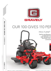 Pro-Turn - Model 100 - Zero Turn Lawn Mowers Brochure