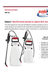 Solo - Model 406-US - 2 Gallon Multi-Purpose Sprayer Brochure