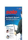 Solo - Model 473-P - 3 Gallon Piston Backpack Sprayers Brochure