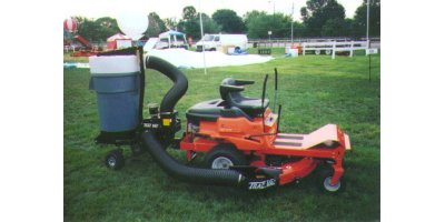 TRAC VAC - Model 452, 452-D - Zero-Turn Lawn Vacuums System