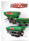 DAVID FRUIT/COMPACT FRUIT - Carried Localized Inter Row Fertilizer Spreader Brochure