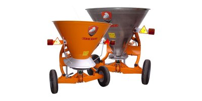 Model SCR - Trailed Fertilizer/Salt Spreader