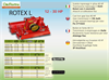 Rotex L - Model HP 12 - 25 - Power Harrow Brochure