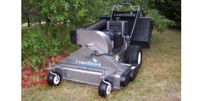 LawnShark - Model XTL - 2-Stage VAC Collection System