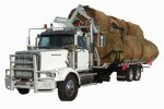 Self Loading - Self Unloading Round Bale Truck Mounted Bale Deck