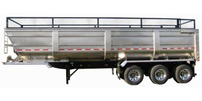 Aluminum 5 Wheel End Dump Trailer