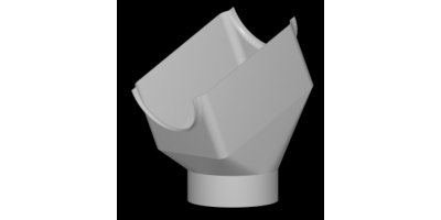 Model 10 - Angled Downspout Top