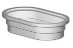 Model 30 - Oval Water Troughs