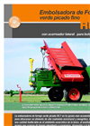 Model R6F - Green Chop Forage Bagger Brochure