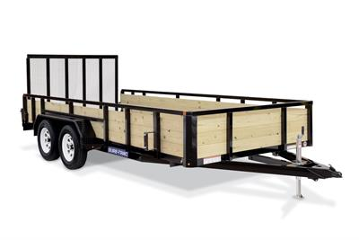 Sure-Trac - Model 3 - Tube Top Board High Side Utility Trailer