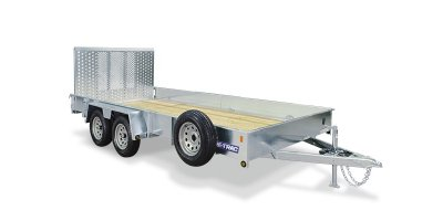 Sure-Trac - Galvanized High Side Utility Trailer