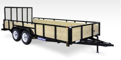 Sure-Trac - Model 3 - Board High Side Tube Top Trailer