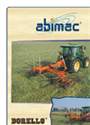 Borello - Model Butterfly series - Double Rotor Rotary Hay Rake Brochure