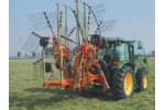 Model Butterfly series  - Double Rotor Rotary Hay Rake