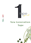 1 Tape flat Dripline Brochure