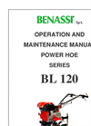 Model BL 120 - Tillers Brochure