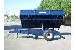Model BRT series - Two Wheels Hydraulic Tipping Trailers