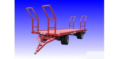 Flatbed Trailers with Double Axle Fixed Body