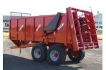 Model BV  - Tandem Axle Manure Spreaders with 2 Giant Vertical Beaters