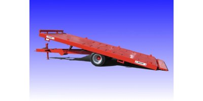 Flatbed Trailers with Twin Wheels
