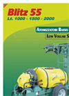 Blitz - Model 55 - Trailed Sprayer Brochure