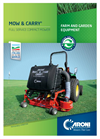 Mow & Carry - Compact Mower Brochure