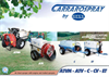 RAINBOW - Model 600-800-1000 LITRES - Trailed Sprayers - Brochure