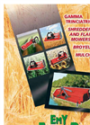 Shredders and Flail Mowers Products Catalog