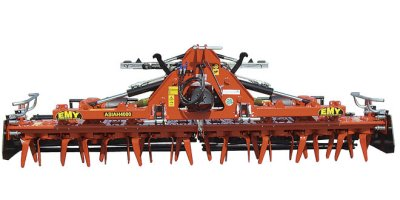 ASIAH - Model 90-110 HP - Folding Power Harrow