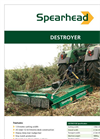 Destroyer Scrub Cutter Brochure