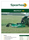 Multicut - Model 160 & 200 - Rotary Mower Brochure