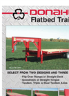 Donahue - Flatbed Trailers Brochure