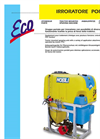 Model ECO-P - Tractor Mounted Sprayers- Brochure