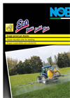 Model ECO Light - Tractor Mounted Sprayers Brochure