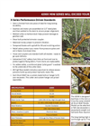 Brush Wolf 4200X Brush Cutter Attachments for Excavators and Backhoes Brochure