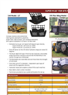 Brush Wolf 144A Super M-AX Site Prep Tractor Brush Cutter Brochure