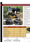 Brush Wolf DG-72 Series Grapple Bucket Attachments Brochure