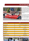 Brush Wolf PT-60 Tractor Mowers Brochure