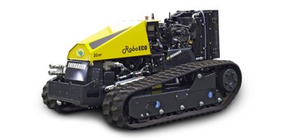 RoboECO  - Remote Controlled Equipment Carrier for Slopes