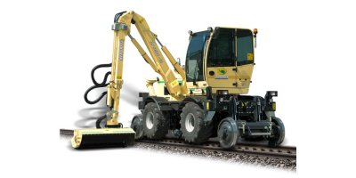 Model LF R1500  - Hydrostatic Grass Cutting Railway Machine