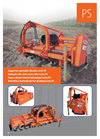 Model PS Series - Side Shift Rotary Tiller Brochure